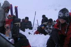 2008 Vintertur start, patrulje og team